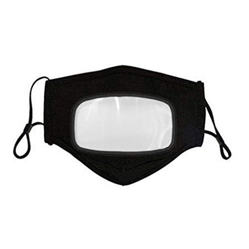 IFOUNDYOU Waschbar Mundschutz mit Luftventil Filter Atemschutz Aktivkohlefilter Gesichts Mundschutz für Radfahren Reiten Staubdicht Outdoor-Austauschbare Filterchip Staub Anti Verschmutzung
