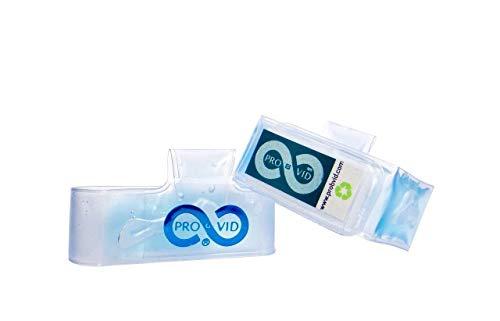 ProVid Pulsera con gel hidroalcoholico aroma menta, 70% contenido de alcohol, limpiadora y desinfectante. 300 g