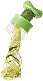ZJZ Déchiqueteuse 3 en 1, Coupe-légumes Multifonctionnel de Cuisine de râpe à Spirale de légumes pour la Machine de nouill...