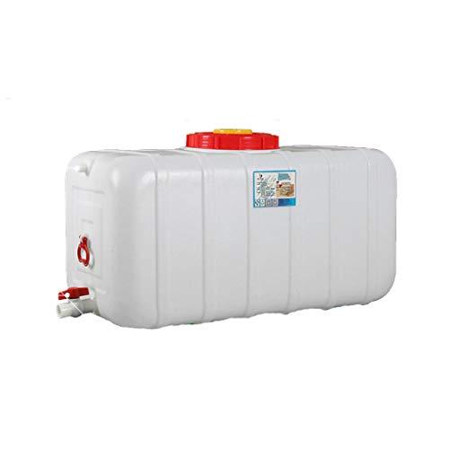 HWhome Cubos De Plástico De Calidad Alimentaria 200L Bidón De Agua con Grifo Recipiente De Agua Portátil Coche Tanque De Agua De Emergencia Depósito De Agua Contenedor De Agua
