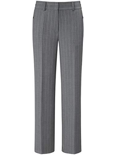 BASLER Damen Hose mit Nadelstreifen und Hakenverschluss