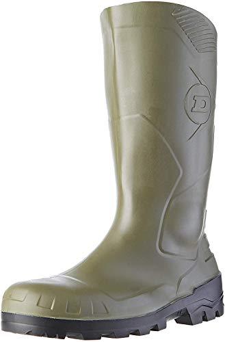 Dunlop Protective Footwear Devon full safety  Unisex-Erwachsene Gummistiefel, Grün 45 EU