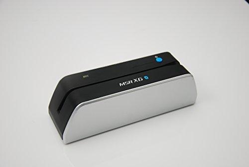 Nuevo Bluetooth MSRX6 (BT) Magstripe Encoder Lector de Tarjetas de crédito Swipe MSR206 MSR605 MSR606 MSRX6