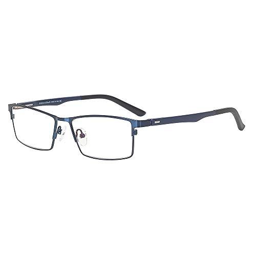 Eileen&Elisa Flexible Titanium Optical Glasses Frames for Men/Women with Blue Light Blocking Lenses