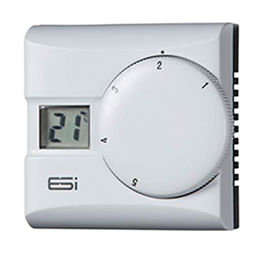 ESI ESRTD3 - Termostato digital para habitación con control de innovación de ahorro de energía, color blanco