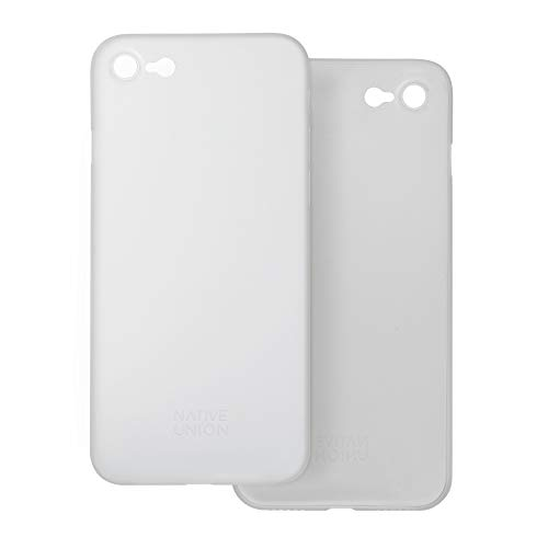 Native Union CLIC Air Custodia - Cover Protettiva Semi-Trasparente Ultra Sottile - Compatibile con iPhone SE 2020, iPhone 7, iPhone 8 (Clear)