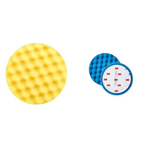 3M Perfect-it III Polierpad, Durchmesser 150mm, 2er Set & Polierschaum Ultrafina SE Anti Hologramm 150mm 50388 2 Stück