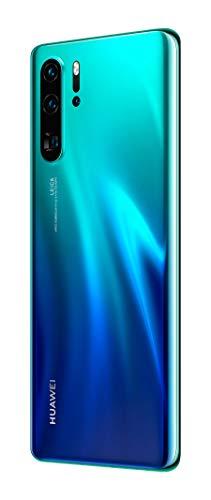 Huawei P30 Pro Smartphone débloqué 4G (6,47 pouces 8/128 Go Double Nano SIM Android 9) Bleu aurora
