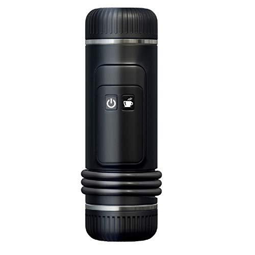 Cápsula USB Espresso Maker Cafetera portátil Máquina de café del coche/Calefacción de agua fría caliente/totalmente semi-automática