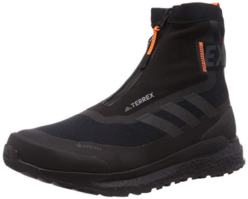 adidas Terrex Free Hiker Cold.RDY Gore-Tex, Zapato para Caminar Hombre, Black Orange, 43 1/3 EU