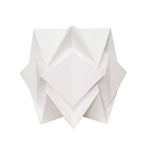 Lámpara de mesa de origami de papel original