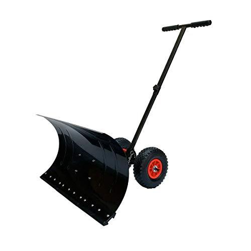 SOFEDY Snow Shovel Pusher, Heavy Duty Snow Shovel...
