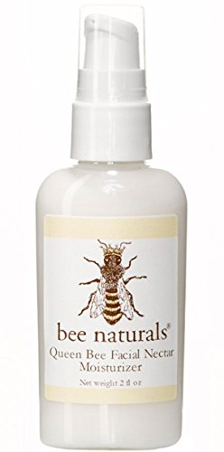 Bee Naturals Face and Neck Moisturizer - Queen Bee Best Facial Nectar - Wonderful Formulation of Vitamin E and Natural Oils - True Love for Your Skin - 2 Oz