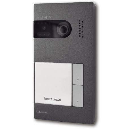 Placa de videoportero Golmar 1225402 2 pulsadores Soul/2