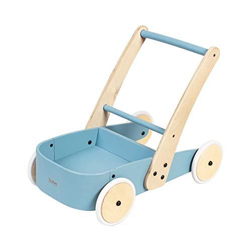 Pinolino 269436 Fiete Chariot d'apprentissage Bleu