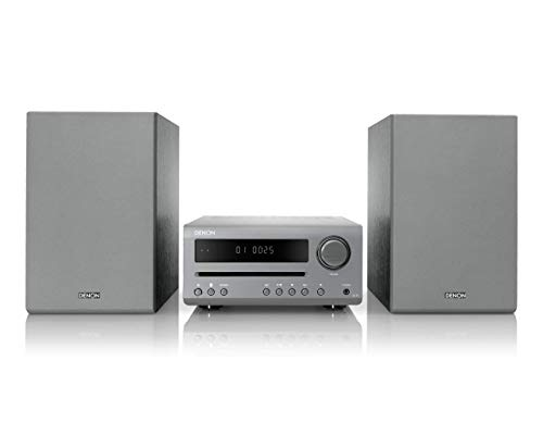 Denon DT-1 Mini HiFi System with CD Player, Sound System for TV, Bluetooth,...
