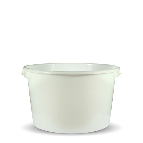 Emiko® HorseCare Tränkebottich rund 85 L/Lebensmittelecht ohne Weichmacher u.a. für Pferde Kühe Ziegen Schafe etc.