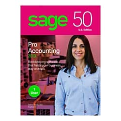Sage 50 Pro Accounting 2019, Traditional Disc