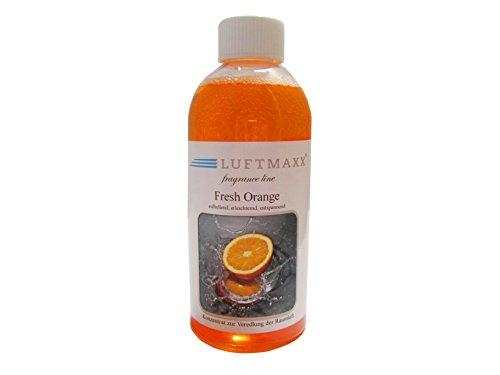 LUFTMAXX Fragrance line Fresh Orange Duftstoff für Lufterfrischer Water Air Fresherner Duft Raumklima Ball
