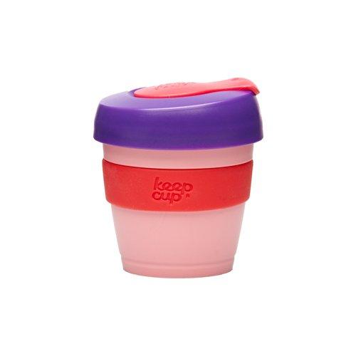 KeepCup Wiederverwendbarer Becher The Worlds First Barista, Standard, extra klein, 113 ml, Bonbon