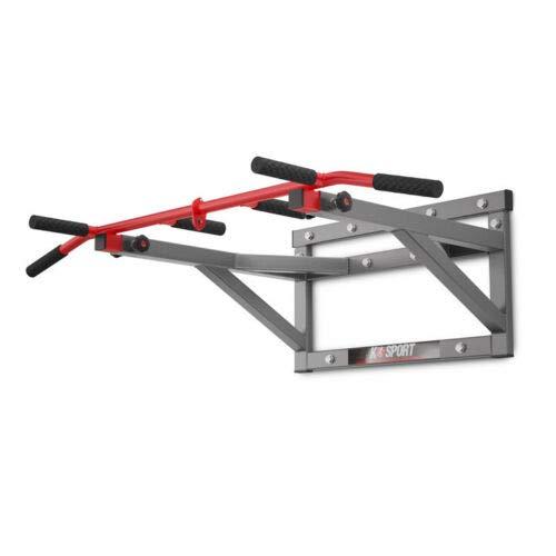 K-Sport Barre de traction murale portable avec barre de traction pour la maison et l'extérieur, machine de traction parfaite jusqu'à 350 kg, machine d'entraînement Crossfit Fitness