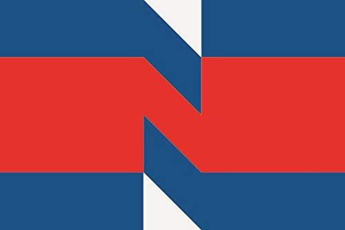 U24 Sticker Nieuwegein (Nederland) vlag vlag 8 x 5 cm autosticker sticker sticker
