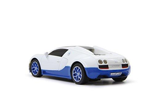 Jamara 404550 27 MHz Echelle 1/24 Blanc Bugatti Veyron Grand Sport Vitesse Voiture de