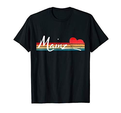 Retro Mainz T-Shirt stolze Mainzer oder als Souvenir