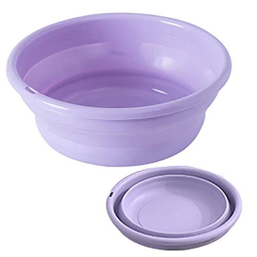 LAX Baby klappbares Waschbecken, Baby-Waschbecken, platzsparende Plastikwaschwanne, tragbares Wasserspeicherbecken