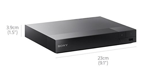Sony BDPS1700B.CEK SMART Blu-Ray and DVD Player with Built-In Apps (new for 2016) - Black
