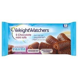 Weight Watchers Chocolate Mini Rolls 5 per pack