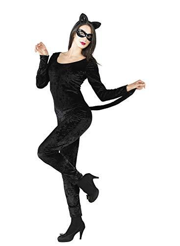 chiber Disfraces Disfraz Mujer Gato Negro