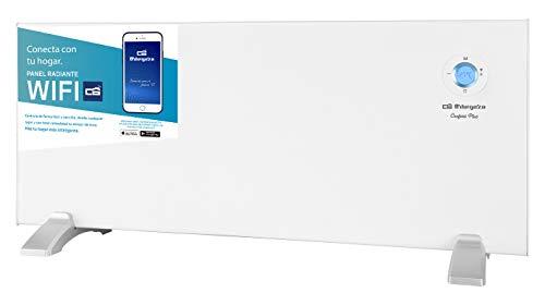 Orbegozo REW 2000 - Panel radiante digital Wi-Fi, 2000 W, pantalla digital LCD, programable, conexión inalámbrica mediante Orbegozo APP