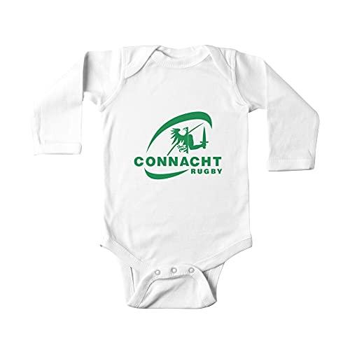Huang Connacht Rugby Baby Einteiler Gr. 24 Monate, weiß