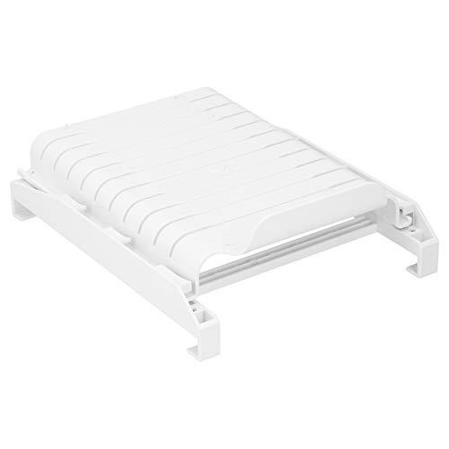 Meiyya Organizador para frigorífico, Estante para frigorífico, Material de PP Multiusos Sapce Saving Extraíble Resistente al Desgaste para el hogar 25 x 19,5 x 9 cm(Blanco)