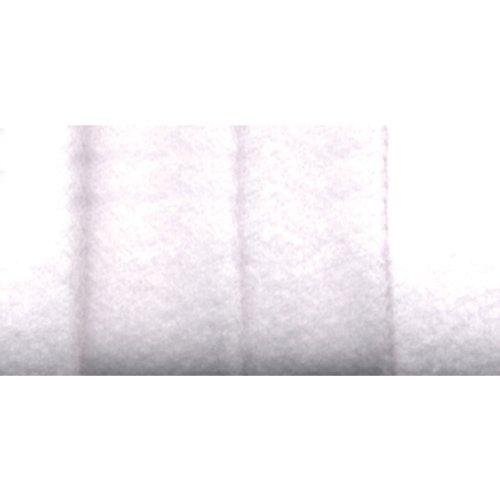 Wrights 117-207-030 Extra Wide Double Fold Fleece Binding Tape, White, 3-Yard
