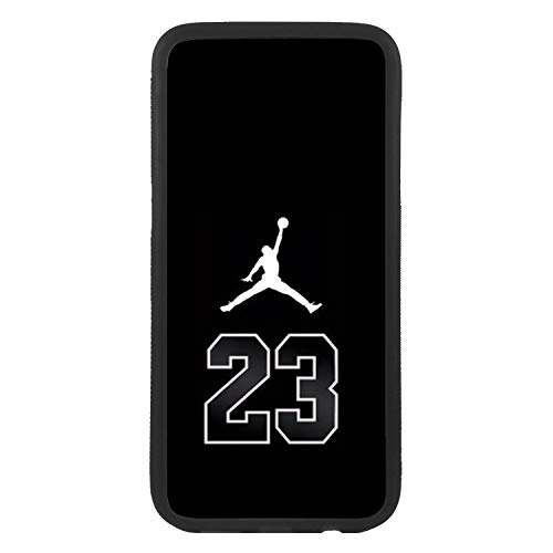 Custodia cover per Samsung Galaxy J7 (2016) Logo Nike Air Jordan 23 Logo TPU Bordo Nero