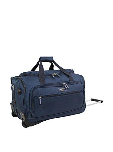 ZIFEL Trolley blando Azul Marino 26 cm