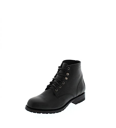 Sendra Boots Stiefel 10604 Schwarz Schnürstiefel