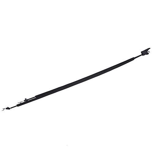 KIMISS 2 * Cables de inclinación del asiento delantero del coche, Cable de inclinación lateral de pasajeros para MK6 2001-2008 R/L (negro)(Lado del pasajero izquierdo)