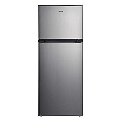 Galanz GLR10TS5F Top Mount Refrigerator, 10 Cu. Ft, Stainless Steel