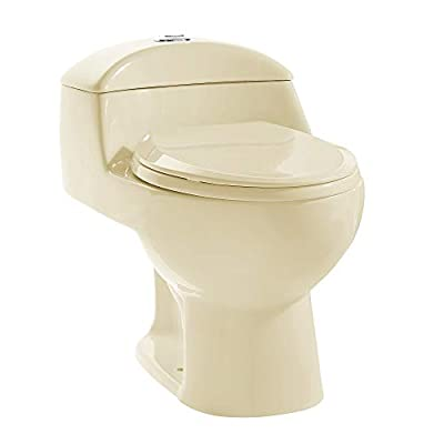 Swiss Madison SM-1T803 Chateau One Piece Toilet, Glossy White