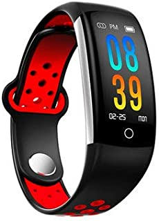 Q6 0.96inch IP68 Blood Pressure Heart Rate Monitor Fitness Tracker Bluetooth Smart Wristband - Smart