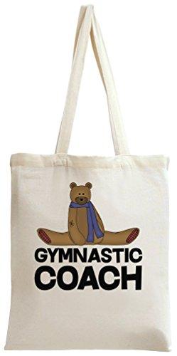Gymnastic Coach Slogan Tote Bag
