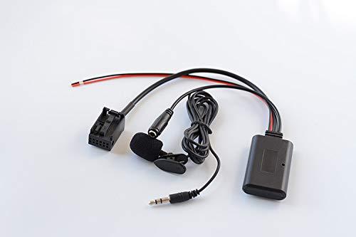 Kabelloser Bluetooth-AUX-Kabeladapter für Opel CD30 MP3 CDC40 CD70 NAVI DVD90 NAVI 12-poliger Anschluss