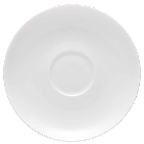 Rosenthal Jade Espresso Saucer, Porcelain, White, Ø 12 cm, 61040-800001-14716