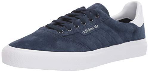 adidas Originals Men's 3MC Regular Fit Lifestyle Skate Inspired Sneakers Shoes, Collegiate Navy/White/Grey, 10 M US