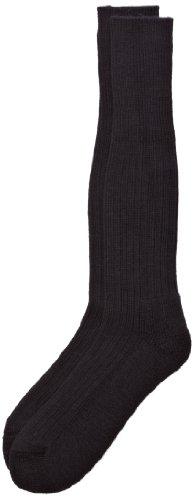 HJ Hall Herren Commando Socken, Schwarz, Large
