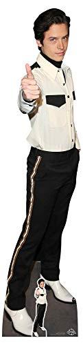 Star Cutouts CS789 Pappaufsteller Cole Sprouse, lebensgroß, inkl. Mini-Aufsteller, 184 cm hoch, ideal für Freunde, Familie und Fans, mehrfarbig