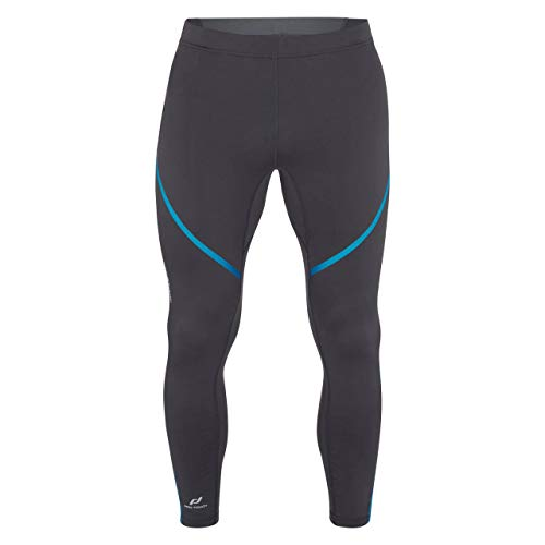 Pro Touch Striker Tights Hommes, Anthracite/Blue, FR (Taille Fabricant : XL)